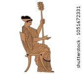 isolated vector illustration of ... | Shutterstock .eps vector #1051672331