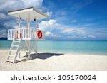 Beach Guard Tower In Boracay ...