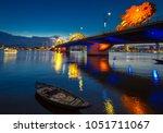Dragon Bridge In Danang All Li...