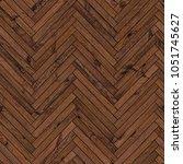natural parquet seamless floor... | Shutterstock . vector #1051745627