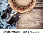 travel and vacations concept ... | Shutterstock . vector #1051782611