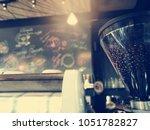 blurred background of vintage... | Shutterstock . vector #1051782827