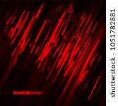 glitch blood bright light red... | Shutterstock .eps vector #1051782881