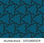 minimalist geometric seamless... | Shutterstock .eps vector #1051800329