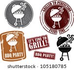 hinterhof bbq,hinterhof-partei,abzeichen,grill,grill/barbecue,verzweifelt,lebensmittel,grill,grillen,symbol,impressum,einladung,fleisch,altmodisch,partei