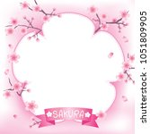 illustration vector of pink...   Shutterstock .eps vector #1051809905