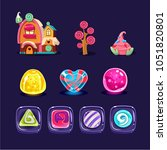 vector set of colorful mobile...