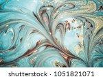 magic marbleized effect....   Shutterstock . vector #1051821071