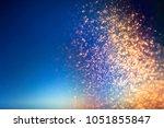 glitter lights abstract... | Shutterstock . vector #1051855847