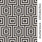 vector seamless pattern. modern ... | Shutterstock .eps vector #1051862561