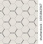 vector seamless pattern. modern ...   Shutterstock .eps vector #1051862567