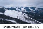 ski resort jasna slovakia... | Shutterstock . vector #1051863479
