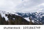 ski resort jasna slovakia... | Shutterstock . vector #1051863749