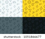 power tools seamless texture.... | Shutterstock .eps vector #1051866677