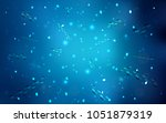 dark blue vector background... | Shutterstock .eps vector #1051879319