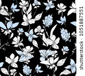 trend in textiles  vector... | Shutterstock .eps vector #1051887551