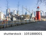 rotterdam  the netherlands  ... | Shutterstock . vector #1051888001