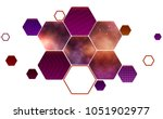 Hexagonal Honeycomb With A...