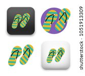 flat vector icon   illustration ... | Shutterstock .eps vector #1051913309