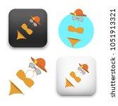 flat vector icon   illustration ... | Shutterstock .eps vector #1051913321