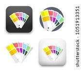 flat vector icon   illustration ... | Shutterstock .eps vector #1051913351
