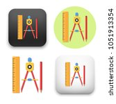 flat vector icon   illustration ... | Shutterstock .eps vector #1051913354