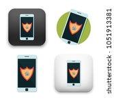 flat vector icon   illustration ... | Shutterstock .eps vector #1051913381