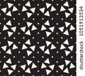 stylish halftone texture.... | Shutterstock .eps vector #1051913534