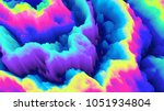 color explosion. paint splash.... | Shutterstock . vector #1051934804