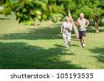 ������, ������: Active retirement senior couple