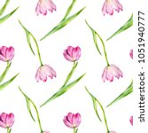 seamless pattern with... | Shutterstock . vector #1051940777