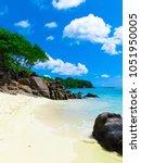 nature paradise landscape  | Shutterstock . vector #1051950005