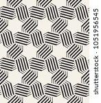 vector seamless pattern. modern ... | Shutterstock .eps vector #1051956545