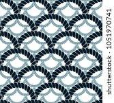 rope seamless pattern  trendy...   Shutterstock .eps vector #1051970741