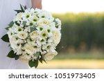 italy  closeup of a bridal... | Shutterstock . vector #1051973405