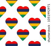 seamless pattern from the... | Shutterstock .eps vector #1051992971