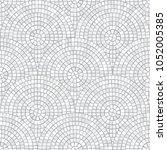abstract mosaic seamless... | Shutterstock .eps vector #1052005385