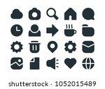 minimalist ui icon set