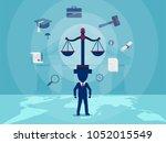 concept vector illustration of... | Shutterstock .eps vector #1052015549