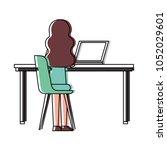 people character activity   Shutterstock .eps vector #1052029601