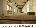 old production hall | Shutterstock . vector #1052044439