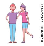 people character figure image | Shutterstock .eps vector #1052070614
