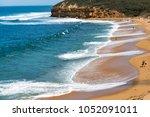 the great ocean road   victoria ... | Shutterstock . vector #1052091011