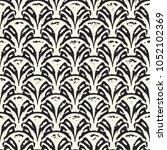 abstract monochrome broken...   Shutterstock .eps vector #1052102369