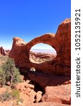 arches national park  usa  | Shutterstock . vector #1052135921