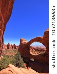 arches national park  usa  | Shutterstock . vector #1052136635