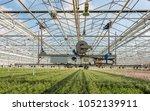 semi automatic farming robot...   Shutterstock . vector #1052139911