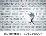 data breach and private... | Shutterstock . vector #1052140007