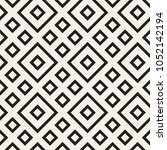 stylish lines lattice. ethnic... | Shutterstock .eps vector #1052142194