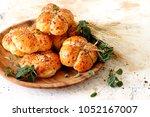 homemade cheese buns   Shutterstock . vector #1052167007